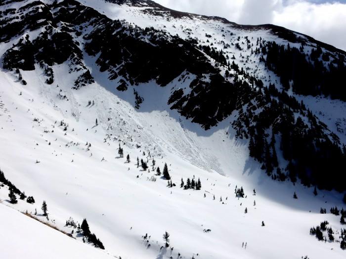 NW aspect NTL on White Mountain