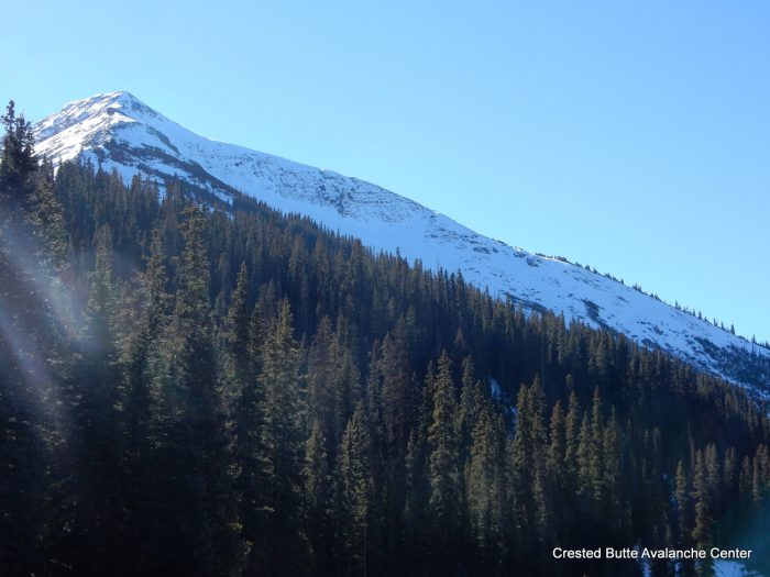 N aspect of Mt. Baldy