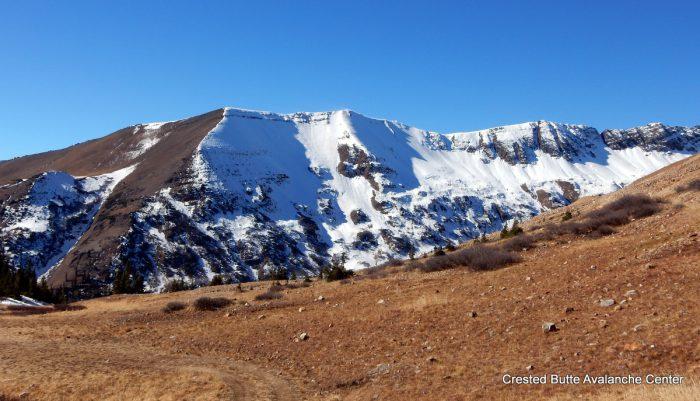 Northeasterly aspects of Purple Ridge